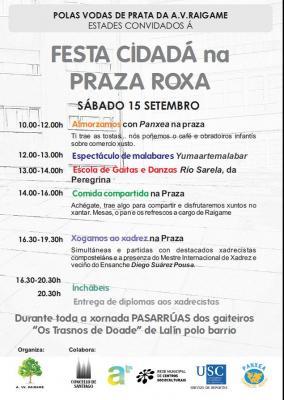 II FESTA CIDADÁ NA PRAZA ROXA